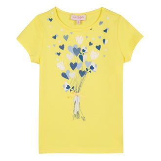 Garence Yellow Balloon Graphic Tee