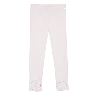 Group Pink Eyelet Legging
