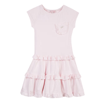 Gerland Pink Ruffle Dress