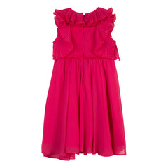 Grace Rasberry Flowy Dress
