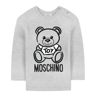 Grey Toy Bear Tee