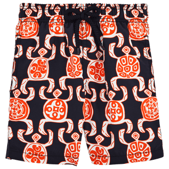 Blue Jam Turtle Print Trunks