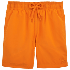 Orange Jam Swim Trunks