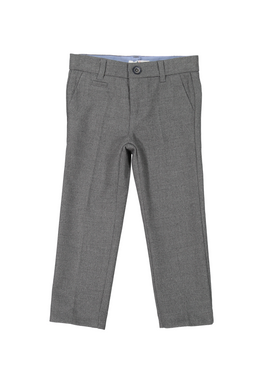 Lt Grey Heather Wool Pants