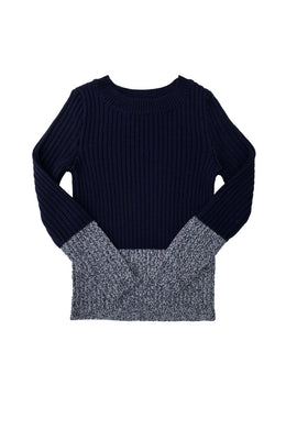 Bryn Indigo Sweater