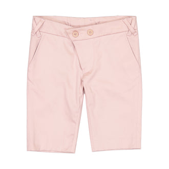 Mauve Cotton Bermudas