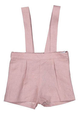 Gladiolus Dusty Pink Suspender Shorts