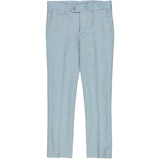 Aqua Tweed Pants