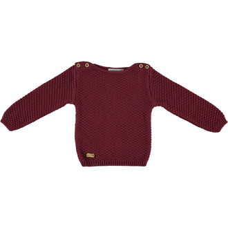 Bordeaux Snow Pullover