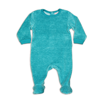 Aqua&Cream Velour Footie