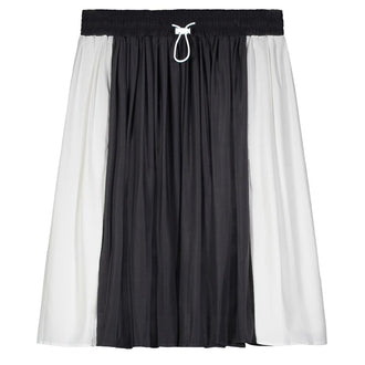 Black & White Varsity Skirt