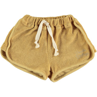 Mustard Terry Shorts
