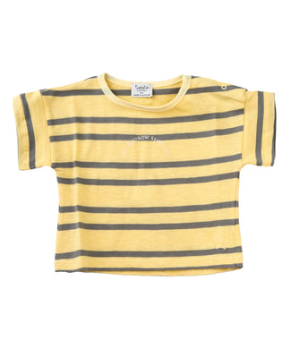 Yellow Stripe Tee