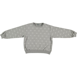 Grey Tocoto Stamp Sweatshirt