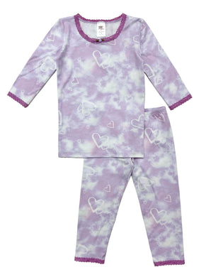 Shimmer Heart Clouds Pjs