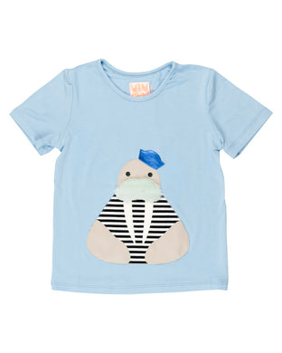 Sailor Light Blue Tshirt