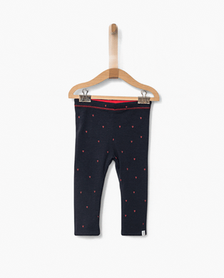 Dolce Navy Reversible Legging