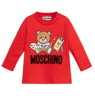 Red Art Toy Bear Tee