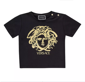 Black/Gold Medusa Tee