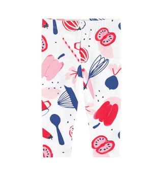 Rouge White Printed Legging