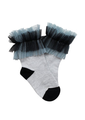 Shaddow Blue Socks