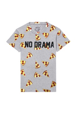 No Drama PIzza Emoji T-shirt