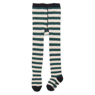 Green Striped Tights