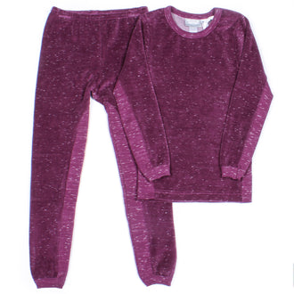 Berry Jam Velour Pjs
