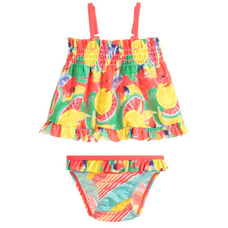 Rainbow Fruit 2 Pc Swimsuit