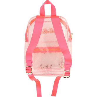 Clear Glitter Backpack