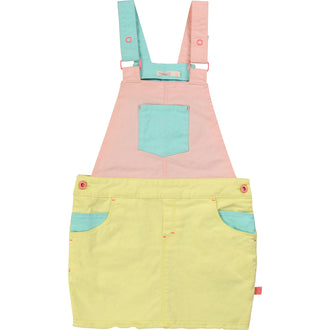 Colorblock Overall Jumper