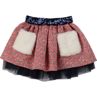 Fancy Jaquard Skirt