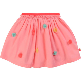 Rose Candy Pom Pom Skirt