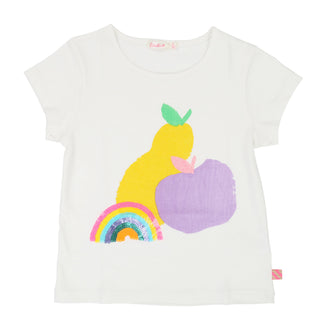White Fruit Graphic Tee