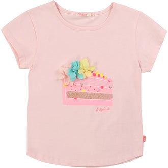 Rose Love Cake Slice Tee