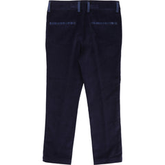 Indigo Velvet Dress Pants