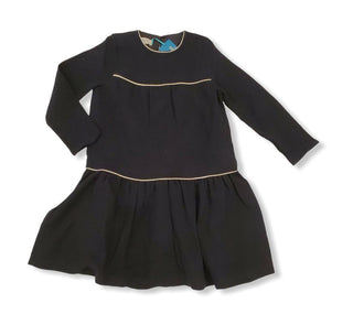 Cayetana Black Tiered Dress