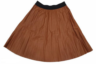 Luggage Pleather Skirt