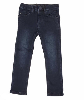 Dark Skinny Denim Jeans