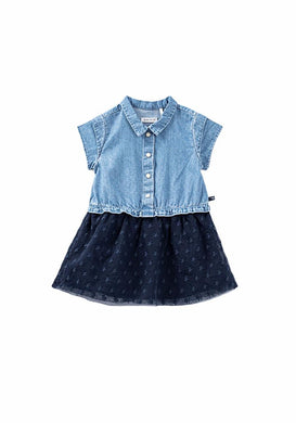 Denim 2 Tone Dress