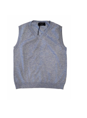 Zack Light Blue/Grey Vest