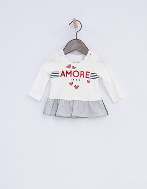 Dolce White Amore Top