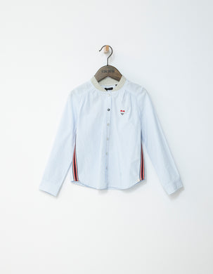 Dolce White Stripe Shirt