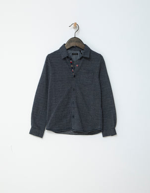 Urban Navy Printed Shirt