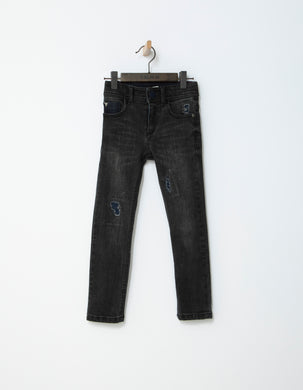 Urban Blue Denim Slim Pants