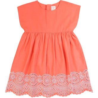 Candy Dress With Eyelet Embroidery