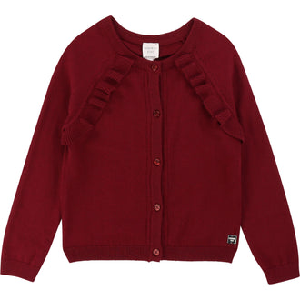 Bordeaux Cardigan