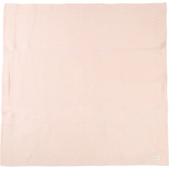 Light Pink Knit Blanket