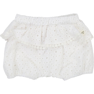 White French Embroidered Bloomers