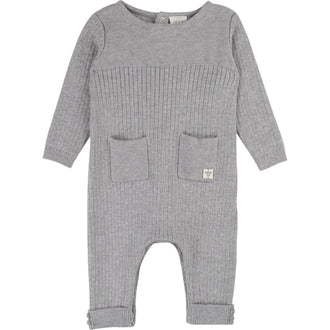 Light Grey Knit Romper